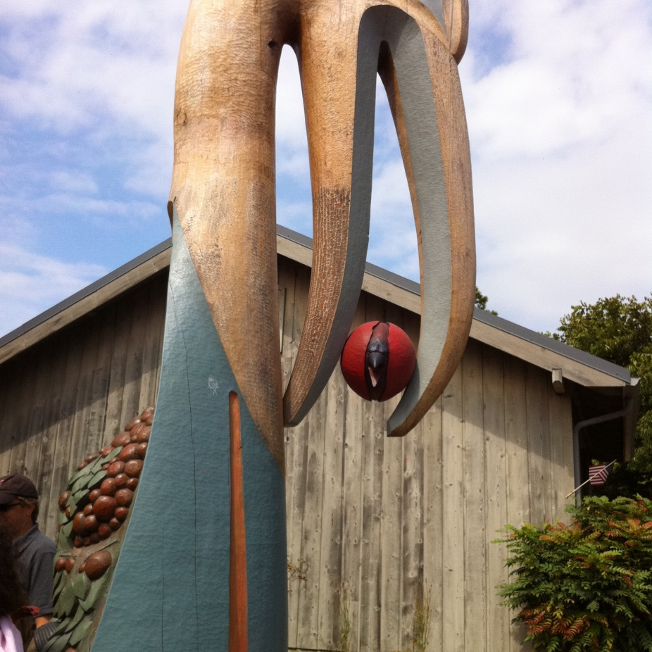 Totem on Orcas