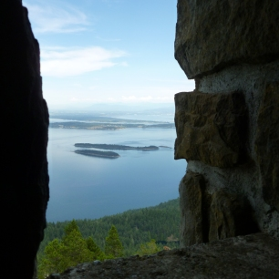 View from the Orcas Island watchtower