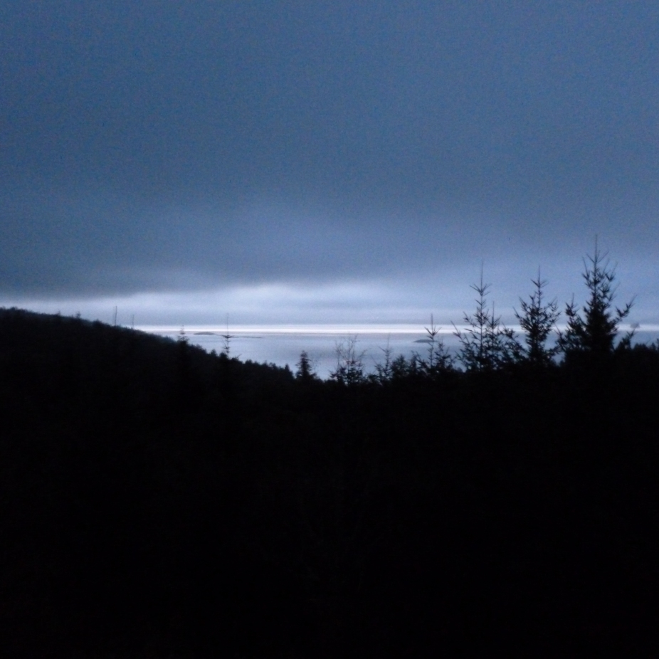 Storm clouds over Orcas